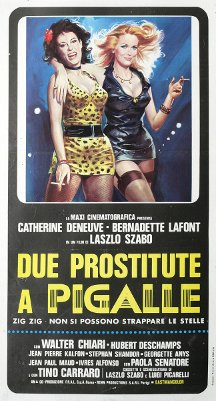Due prostitute a Pigalle